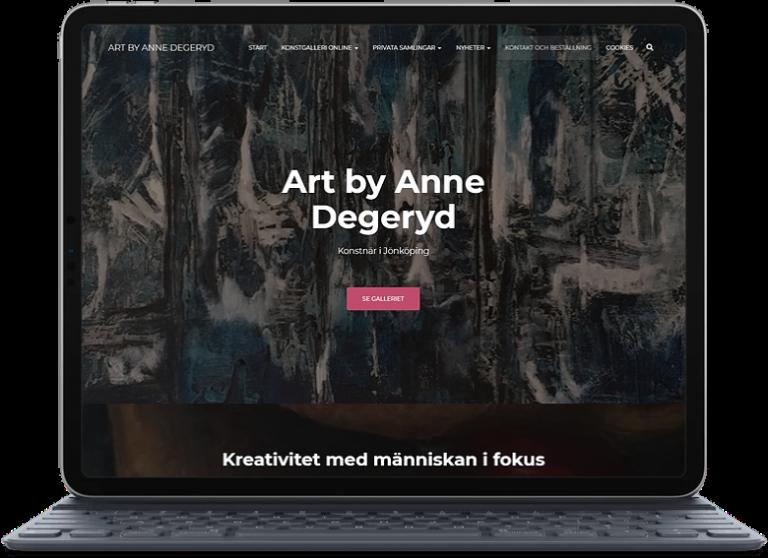 Konstnär i Jönköping Anne Degeryd
